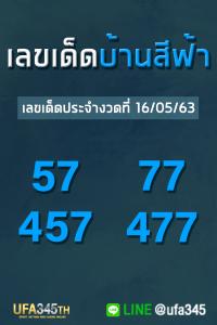 เลขเด็ด บ้านสีฟ้า